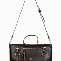 Accents Buckle Down Handbag $64