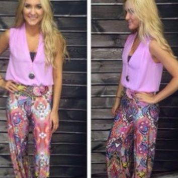 Heart of Dixie Palazzo Pants