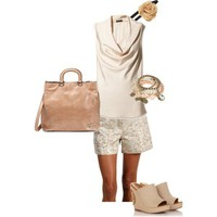 neutral sunday summer brunch - Polyvore