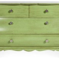 One Kings Lane - Kelly Wearstler: Santa Monica - 1970s Green Chest