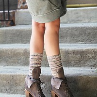 Jeffrey Campbell + Free People Womens Andover Lace Up Boot - Grey Suede,