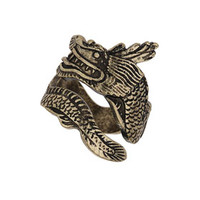 FREEDOM FOUND COLLECTION DRAGON WRAP RING