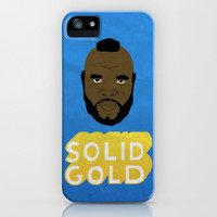 Solid Gold iPhone & iPod Case by Chase Kunz | Society6