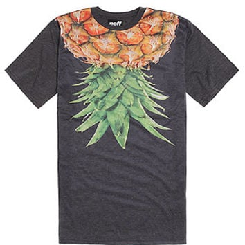 Neff Pineapps T-Shirt - Mens Tee - Black -