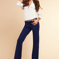 The Christie Flare Pant in Stretch Cotton - Victoria's Secret