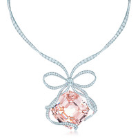 Tiffany & Co. - The Tiffany Anniversary<br>Morganite Necklace