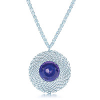 Tiffany & Co. - Tanzanite and Diamond<br>Necklace