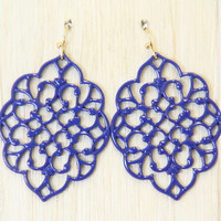 Midnight Morocco Earrings