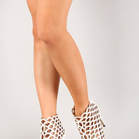 Common-09 Cutout Open Toe Heel