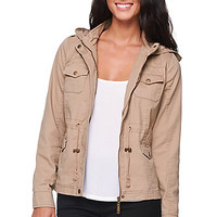 LA Hearts Shrunken Anorak Jacket - Womens Jacket -