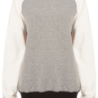 Reclaim To Wear Contrast Sweat - Reclaim to Wear   - Collections  - Topshop