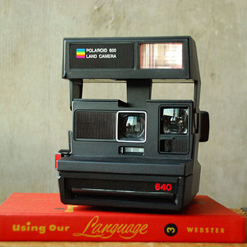Vintage Polaroid 640 Land Camera 600 Film Eighties 1980 by vint