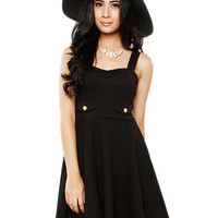 Papaya Clothing Online :: FALSE POCKET FLARE DRESS