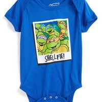 Mighty Fine 'Teenage Mutant Ninja Turtles - Shellfie' Bodysuit (Baby Boys)