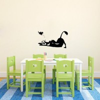 Cartoon Hero Animal Children Room Baby Child Picture Wall Bedroom 323