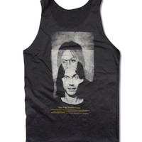 Iggy Pop Tank Top  American Punk Rock Musician Shirt Size S M L