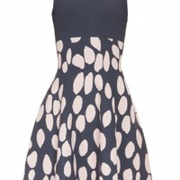Boutique 1 - ISSA LONDON - Multi Jacquard Bay Dress | Boutique1.com