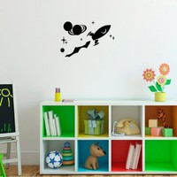 Cartoon Hero Vinyl Decal Sticker Art Design Room Picture Elegancy Hall Wall 396