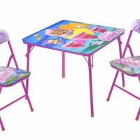 Nickelodeon Bubble Guppies Table and Chair Set, 3-Piece