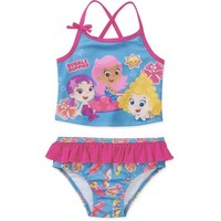 Bubble Guppies 2 Piece Tankini Swimsuit
