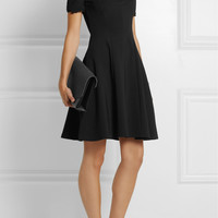 Erdem | Armel lace-trimmed stretch-jersey crepe dress | NET-A-PORTER.COM
