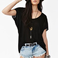 Chiffon Tail Top in Clothes Tops at Nasty Gal
