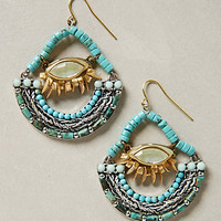 Vallee Beaded Hoops