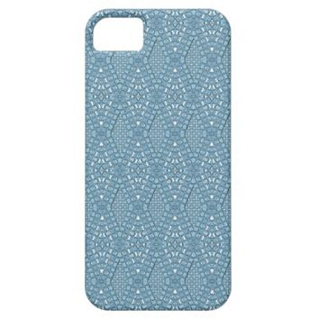Pave Diamonds Blue iPhone 5/5s