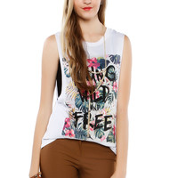 Papaya Clothing Online :: YOUNG WILD FREE GRAPHIC TOP