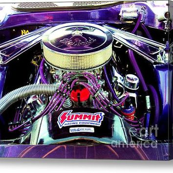 Look Don't Touch 1973 Mustang Acrylic Print