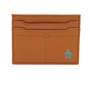 PENGUIN LEATHER CARD CASE