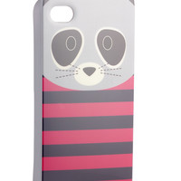 Racoon iPhone 4 Cover | Multi | Accessorize