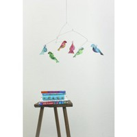 PEACE Recycled Paper Bird Mobile - Abe's Market | Natural, Eco Friendly, and Green Products