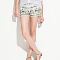 SEQUINNED SHORTS - TRF - ZARA