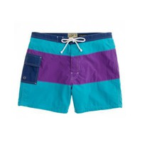 "5"" Portofino trunks in colorblock - 5"" Portofino trunks - Men's swim - J.Crew"