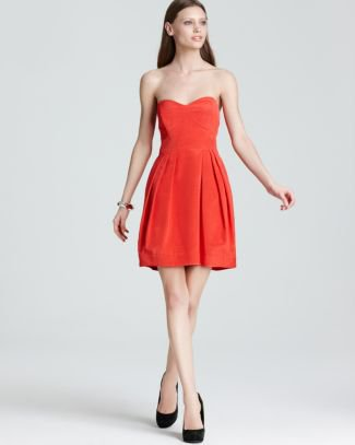 Shoshanna Strapless Dress - Megan | Bloomingdale's