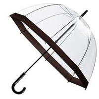RawSpace :: Women&amp;#039;s Gifts :: Umbrellas :: Black Clear Umbrella