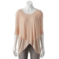 Jennifer Lopez Crossover Hem Top - Women's