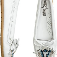MINNETONKA BEADED KILTY MOCCASIN > Womens > Footwear > Shoes | Swell.com