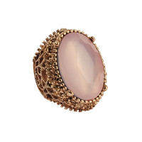 Oval Rhinestone Ring | FOREVER21 - 1017377432