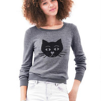 Cat Sweater - Multi
