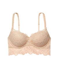 Rose Lace Push-Up Bralette - PINK - Victoria's Secret