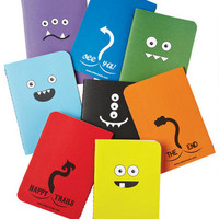Monster Mini Notebook Set - Multi