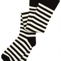 Stripe Over-The-Knee Socks