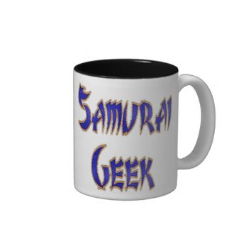 Samurai Geek Blue