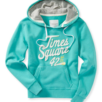 Aeropostale Womens Times Square Popover Hoodie -
