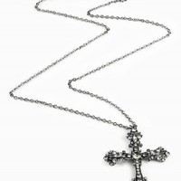 CROSS FILIGREE NECKLACE