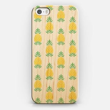 Pineapples Clear iPhone 5s case by Jacqueline Maldonado | Casetify