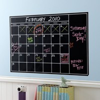 Chalk Calendar Wall Decal SPECIAL $59.00