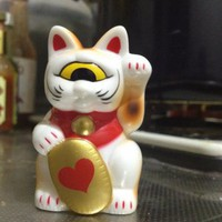 Real x Head Fortune Cat Baby - heart